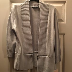 Ivanka Trump Light Blue Gorgeous Cardigan Small